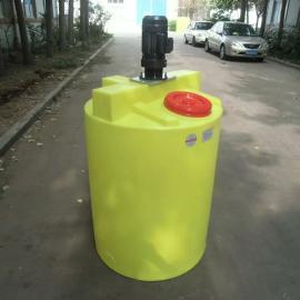 500L-1000LPE加药箱 加药装置专用加药桶 立式搅拌机配套搅拌桶