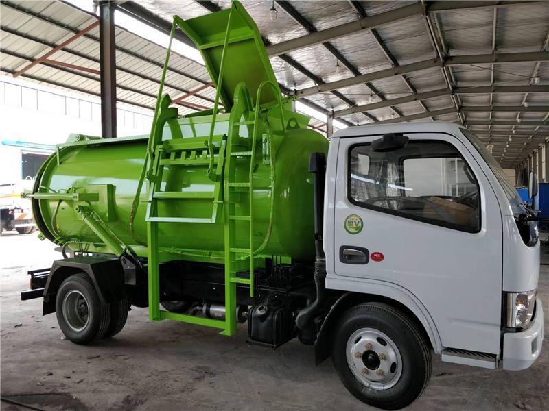 东风多利卡餐厨垃圾车5吨餐厨垃圾车