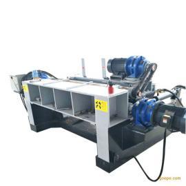 新型液压打皮无卡找圆机刨削木材扒皮机锯木机旋切机成套设备
