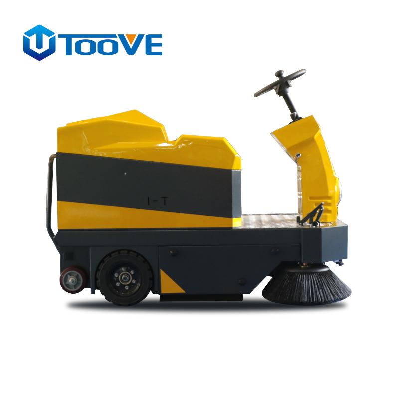 物业保洁用大型驾驶式扫地机大车间清扫车