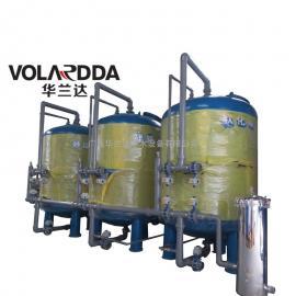马山县农村地下水除浊除铁猛过滤器 全自动40T/H一体化净水设备