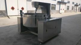 揽月不锈钢全自动XJD-300豆沙馅料炒锅 炒馅机器 可倾斜式