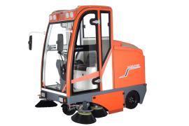 驾驶式清扫车凯迪斯S10双吸风大吸力清扫车电瓶式全自动扫落叶