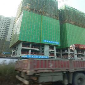 蓝色建筑爬架网片-建筑金属板网5015-全钢提升架爬架防护网片