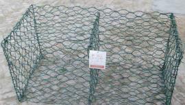 加工浸塑格宾石笼网-河渠六角网笼