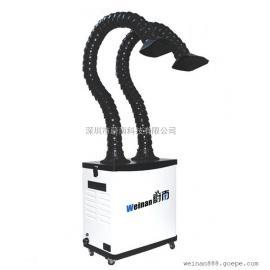 焊锡烟雾过滤器 焊锡烟尘处理净化器 烙铁焊烟除尘去味机器