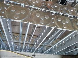 钢制拖链重工业专用,电缆钢制拖链辰睿*专注金属钢制拖链