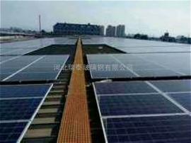 屋顶分布式光伏工程25*38*38玻璃钢格栅板