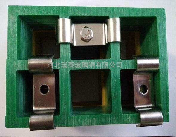 玻璃钢格珊卡扣不锈钢紧固件连接件玻璃钢格珊卡子