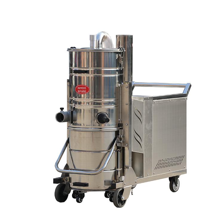 工厂车间用大功率吸尘器机械厂用吸铁屑配合设备吸尘器流水线