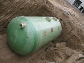 污水处理罐 玻璃钢化粪池严密性好,无渗漏