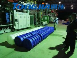 养殖渔排养殖浮球生产设备吹塑机厂家