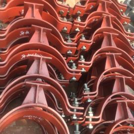 J4T型管托 加筋管夹管托 碳钢T型管托