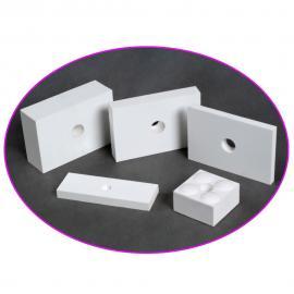 氧化铝耐磨片 粘贴陶瓷耐磨弯头贴片