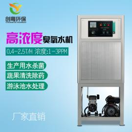 创粤CYW-10g高浓度臭氧水机 食品生产用水杀菌设备