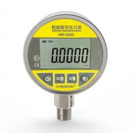 铭控MD-S200不锈钢高精度耐震数显峰值数字压力表