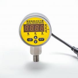 不锈钢耐震径向数显电子式电接点压力表