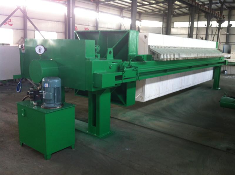 厢式自动拉板压滤机,商砼废水站污泥处理压滤机