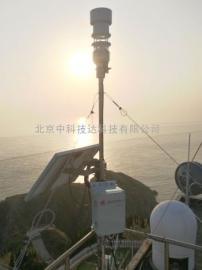 中科技达海岛气象监测系统,自动气象站
