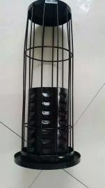 生产优质有机硅袋笼 不锈钢除尘框架 圆形骨架