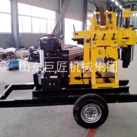 拖车式XYX-200型液压钻机地质勘察岩芯钻探取样钻机