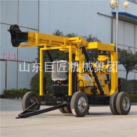 液压水井钻机XYX-3大型拖车式液压勘探钻机