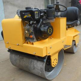 小吨位驾驶式压路机 工地压实机 柴油振动辗压机