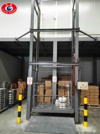 定做液压升降货梯导轨链条式升降平台导轨式厂房升降货梯
