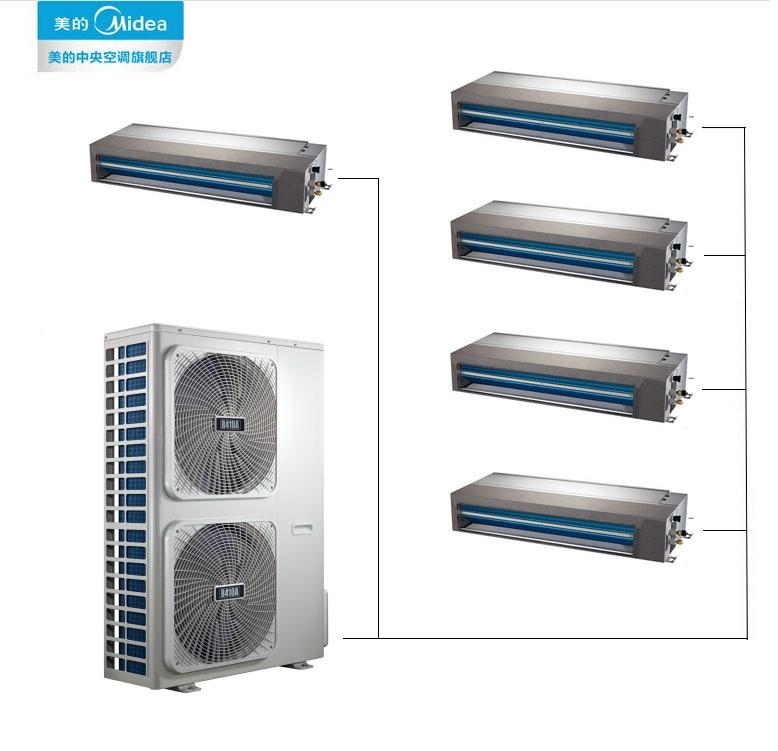 美的中央空调 家用变频多联机