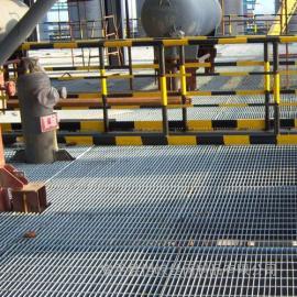 恺嵘楼梯踏步钢格板 水沟盖钢格板 污水处理钢格板现货