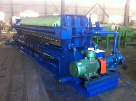 高浓度有机废水处理专用隔膜压滤机