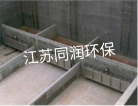 水力冲洗阀自动门式冲洗闸门不锈钢雨水调蓄池拦蓄冲洗液压拍门
