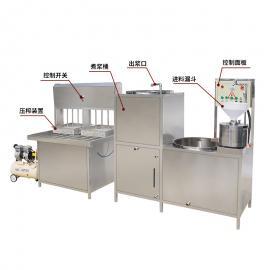 卤水不锈钢家庭创业型大豆腐机器盛隆机械经销