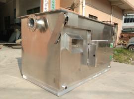 餐饮厨房 全自动油水分离器 隔油池海蓝环保LS-3AT