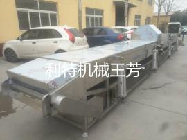 利特机械800蒸煮机、药材蒸煮线、连续蒸煮机