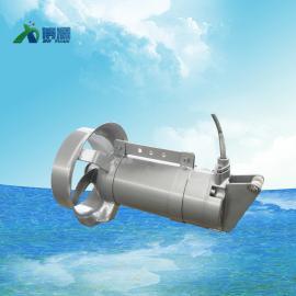 生化池博源不锈钢 铸件 潜水搅拌机QJB1.5/8