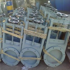 安创方形插板阀 圆形插板阀手动插板阀 闸板阀 气动插板阀 定制