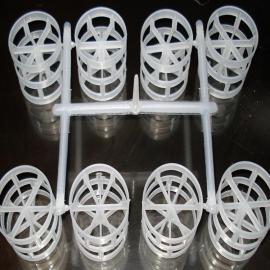 塑料鲍尔环填料,聚丙烯鲍尔环填料,pp鲍尔环填料