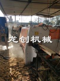 全程自动送料原木多片锯 大小木材均可顺畅通过 不易卡料多片锯