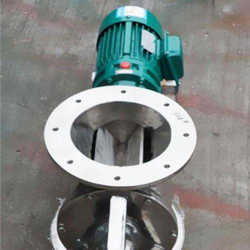 定做 耐高温星型卸料器 不锈钢方口圆口卸料阀 电动卸灰阀卸料器