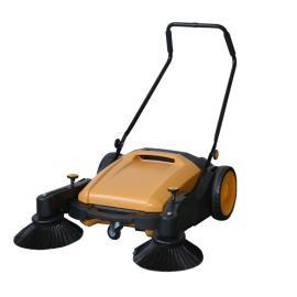 物业小区用手推式扫地机|凯德威手推式无动力扫地机