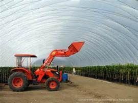垃圾填埋场大棚 充气膜土壤修复大棚 充气膜储煤仓-靓晟泰气膜