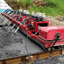 混凝土路面排式振捣机 三滚筒加排震一体机 3辊轴排震一体摊铺机