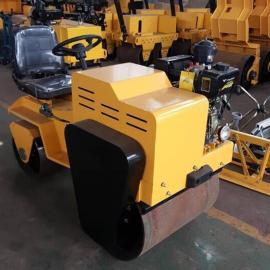驾驶型双轮压路机 柴油沥青震动压实机 座驾式路面振动压土机