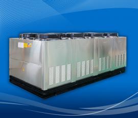 三集一体热泵泳池恒温恒湿机组热回收节能型热泵恒温除湿设备