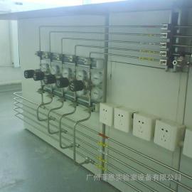 实验室气体管道的铺设