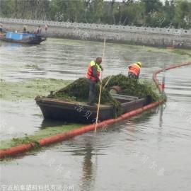 干净饮用水库拦渣塑料浮排