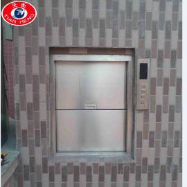 小型酒店传菜电梯升降平台饭店厨房传菜升降机