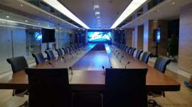 会议室高清LED电视屏幕价/格小间距P1.8led显示屏一平预算报价