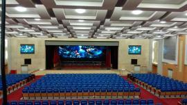 展厅安装p3全彩led电子屏效果需要几多钱
